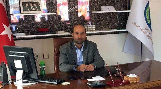 İskilip Ziraat Odasının yeni Başkanı Seyfullah Mücahit Şahin oldu