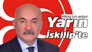 MHP Vahapoğlu ile miting yapacak
