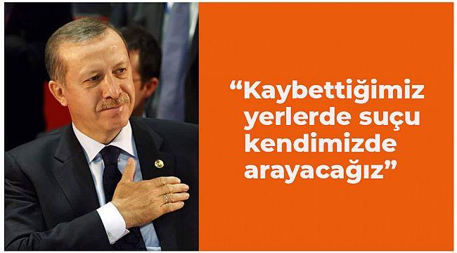 Erdoğan'dan teşkilatlara sert uyarı