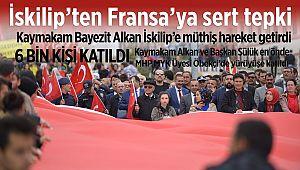Fransa'nın Ermeni soykırımı anma günü İskilip'te protesto edildi