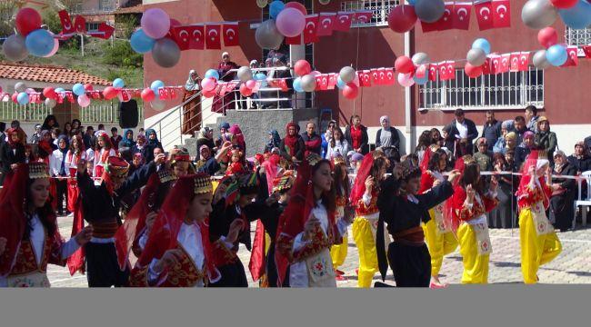 İskilip'te Cıvıl Cıvıl 23 Nisan Kutlaması