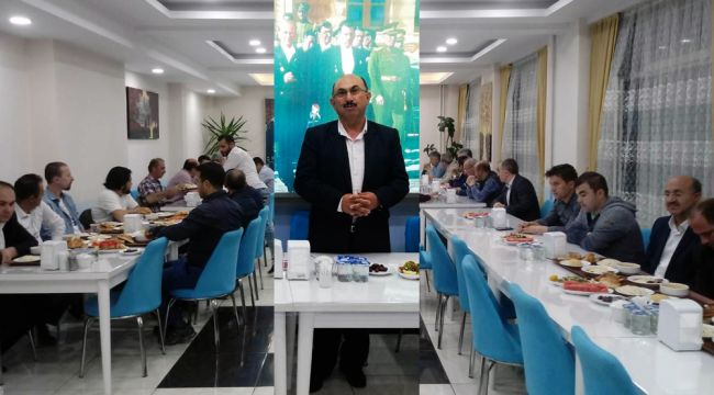 Atcıoğlu okul yöneticilerine iftar verdi