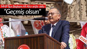İskilip MHP Başkanı Alıcı anjio oldu