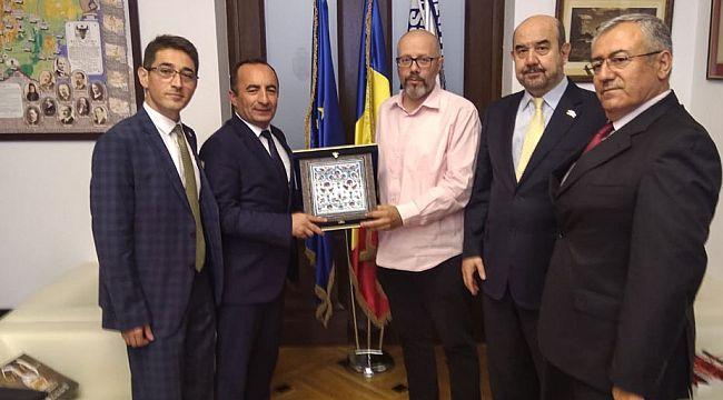 Belediye Başkanı Ali Sülük Romanya'da