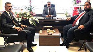 Öbekci'den MHP İl Başkanına hayırlı olsun ziyareti