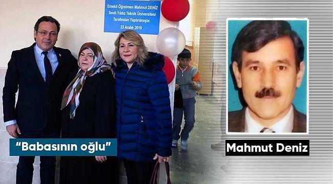 Prof.Dr. Mehmet Engin Deniz babası anısına İskilip'te bilişim sınıfı açtı