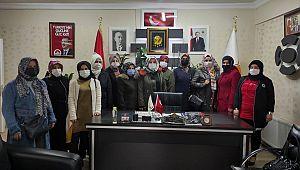 Ak Parti Kadın Kolları yönetimi ilk toplantısını yaptı