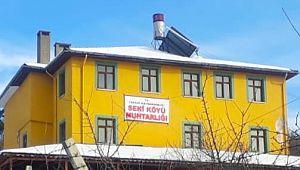 Belediye'ye ait bina köye geçti