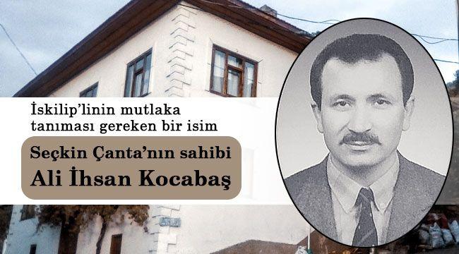 İskilipli ünlü çantacı ile Mustafa Yolcu konuştu
