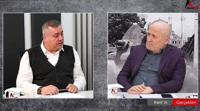 Ahmet Faruk İmal Kent19 TV'nin canlı yayın konuğuydu