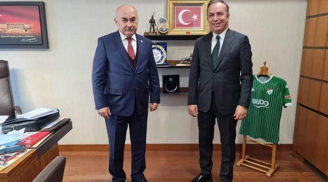 Ahmet Sami Ceylan, Hidayet Vahapoğlu'nu ziyaret etti