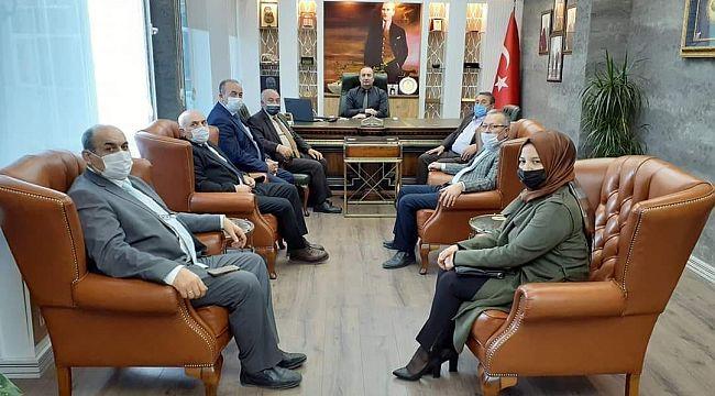 AK Parti'den MHP'ye ziyaretler
