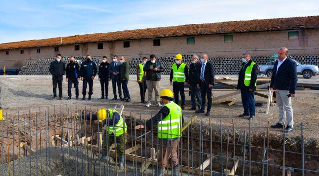 İskilip Belediyesi asfalt üretim tesisinin temelini attı