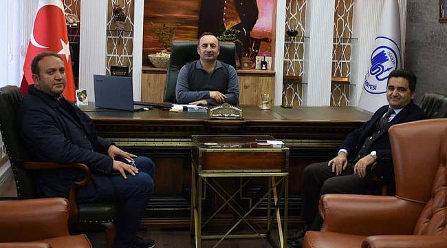 Ak Parti İl Başkan Yardımcısı Evlüce, Başkan'ı ziyaret etti
