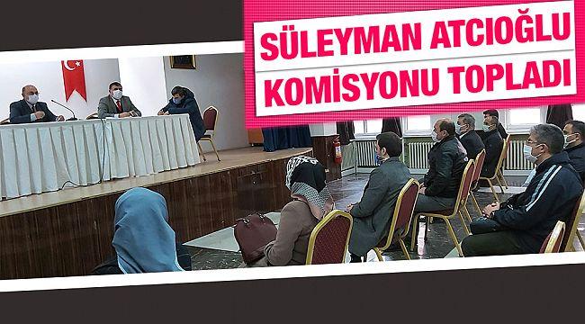 İskilip milli eğitim komisyonu toplandı