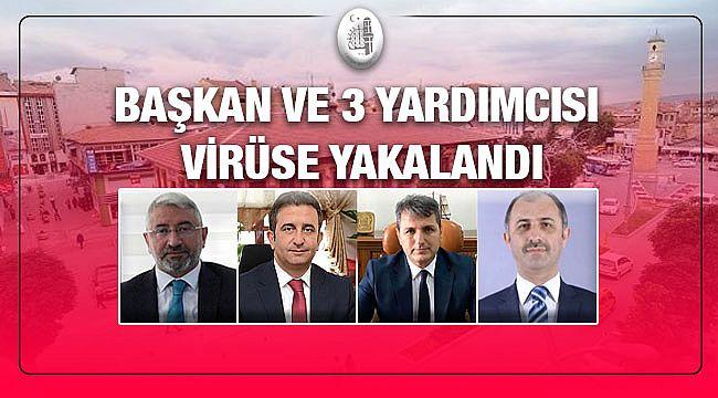 Kırmızıya dönen Çorum'da Belediye Başkanı'da korona oldu