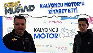 Sakarya Genç MÜSİAD Başkanı Enes Boz Kalyoncu'yu ziyaret etti