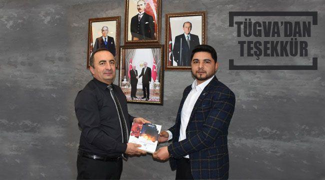 TÜGVA Ali Sülük'e teşekkür etti