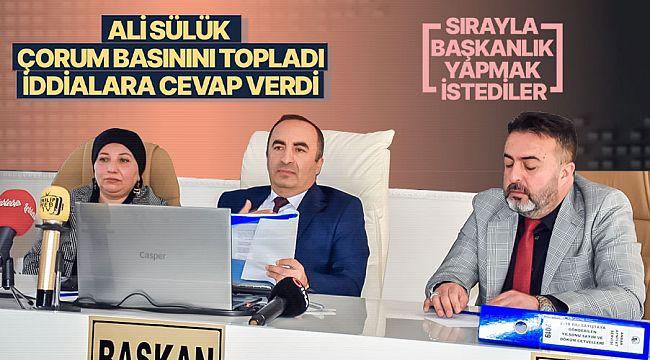Belediye Başkanı Sülük, iddialara cevap verdi
