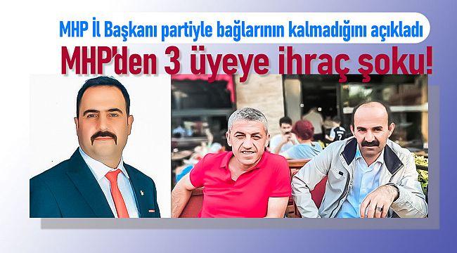 MHP 3 meclisi üyesini ihraç ediyor