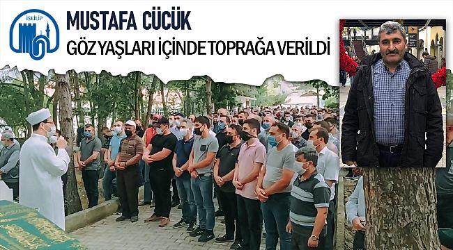 Belediye işçisi Mustafa Cücük son yolculuğuna uğurlandı