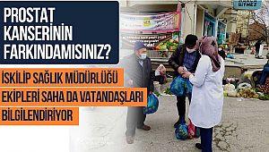 İskilip Sağlık Müdürlüğü ekipleri vatandaşı bilgilendiriyor